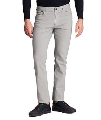 Canali Slim Fit Stretch-Cotton Jeans