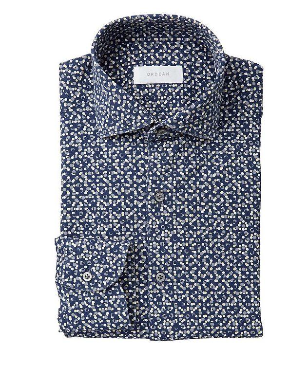 Confetti-Printed Cotton Shirt picture 1