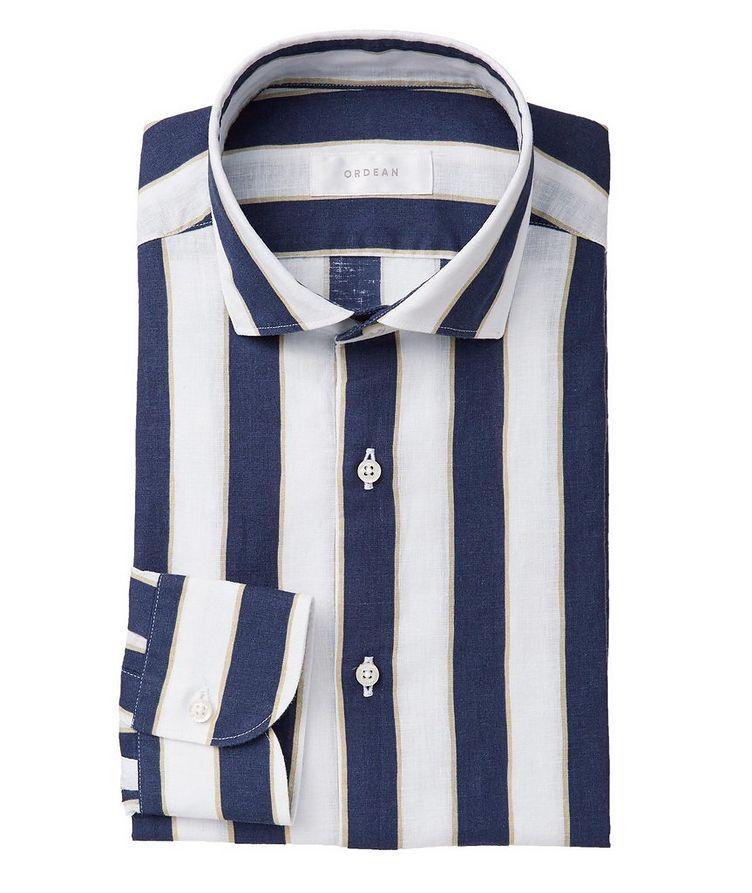 Striped Linen Shirt image 0