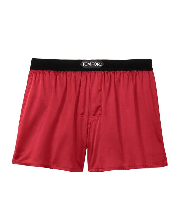 Stretch-Silk Boxers image 0