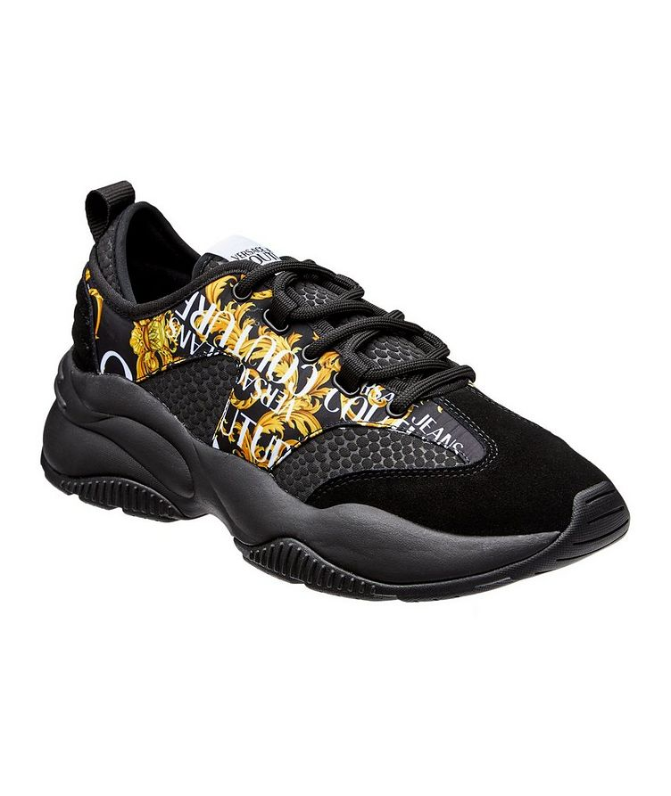 Multi-Texture Sneakers image 0