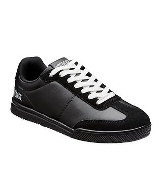 Versace Jeans Couture Leather & Suede Sneakers