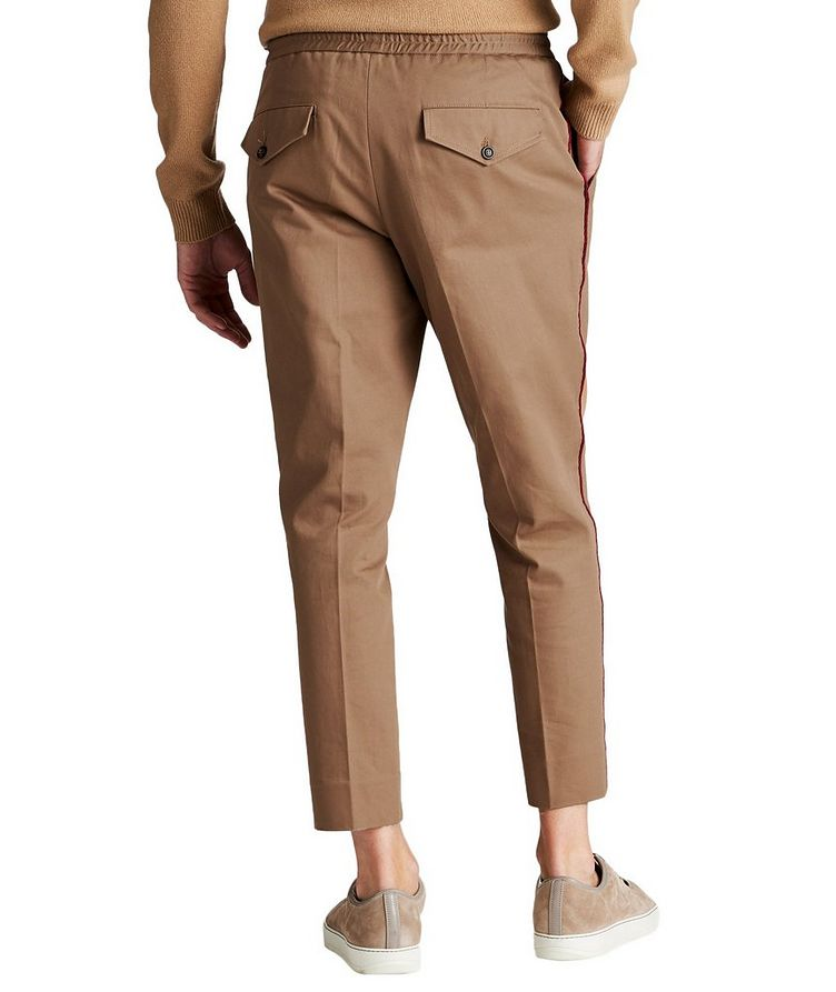 Pleated Cotton Twill Pants image 1