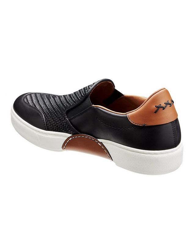Pelle Tessuta Slip-On Sneakers picture 2
