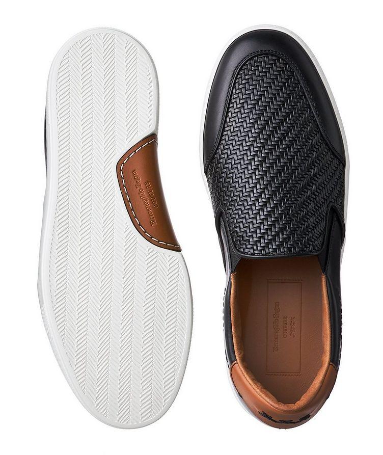 Pelle Tessuta Slip-On Sneakers image 2