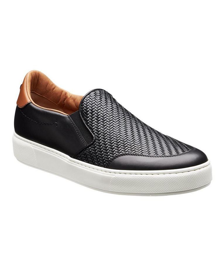 Pelle Tessuta Slip-On Sneakers image 0
