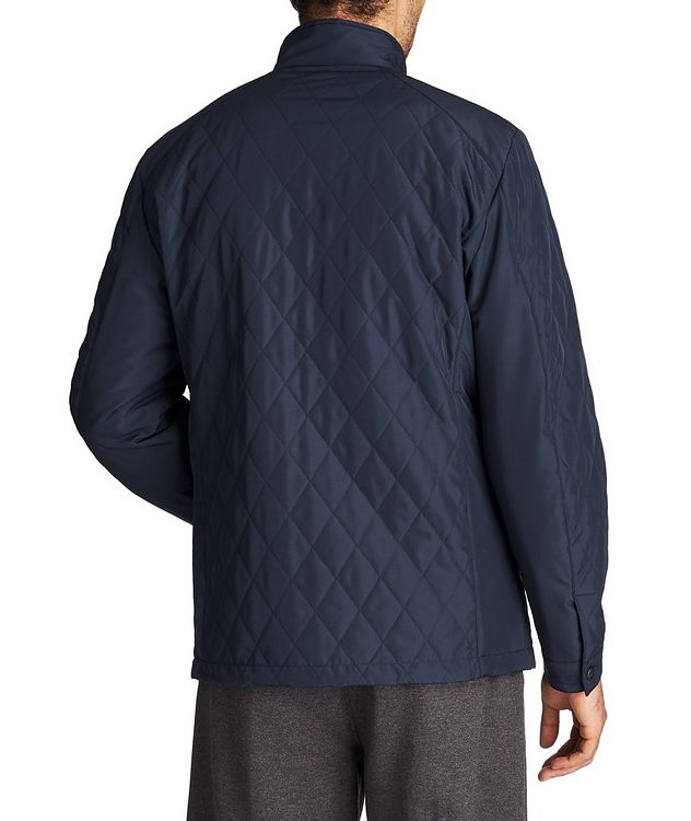 Water-Repellent Quilted Coat picture 2