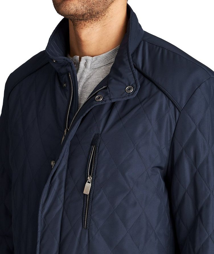 Water-Repellent Quilted Coat image 2