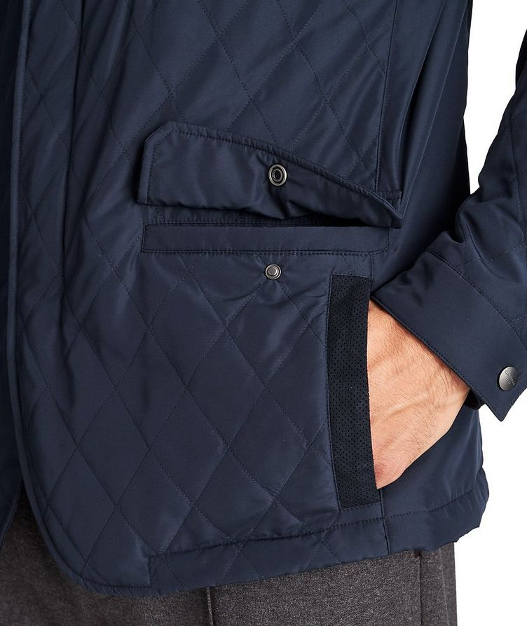 Water-Repellent Quilted Coat image 3