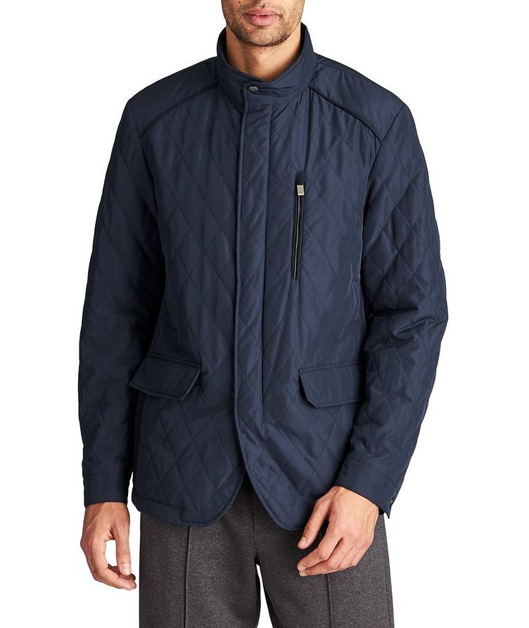 Water-Repellent Quilted Coat image 0