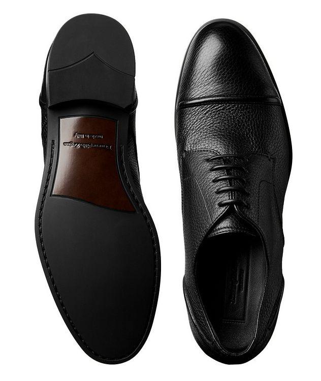 Chaussure Siena en cuir de chevreuil à bout rapporté picture 3