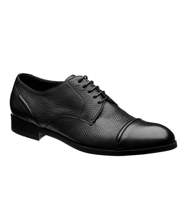Chaussure Siena en cuir de chevreuil à bout rapporté picture 1