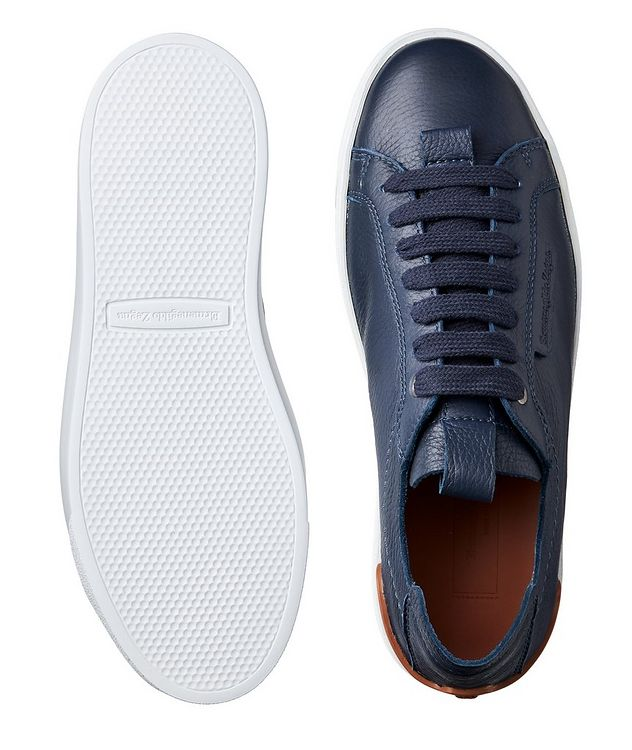 Leather Flex Sneakers picture 3