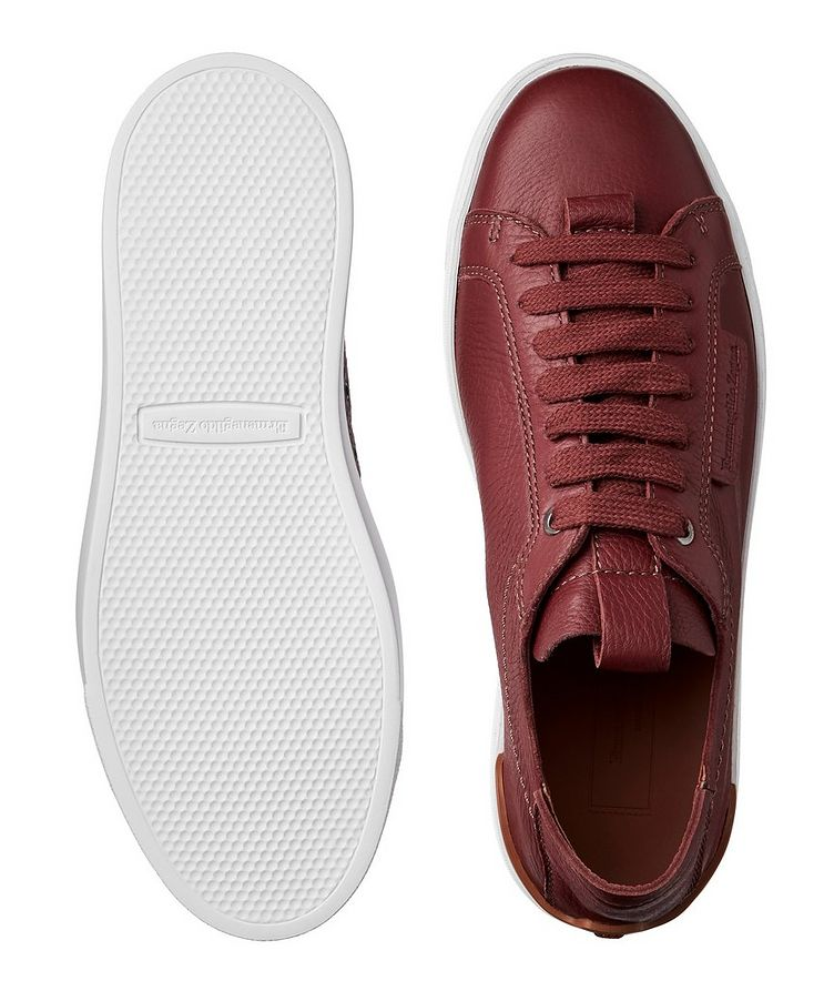 Leather Flex Sneakers image 2