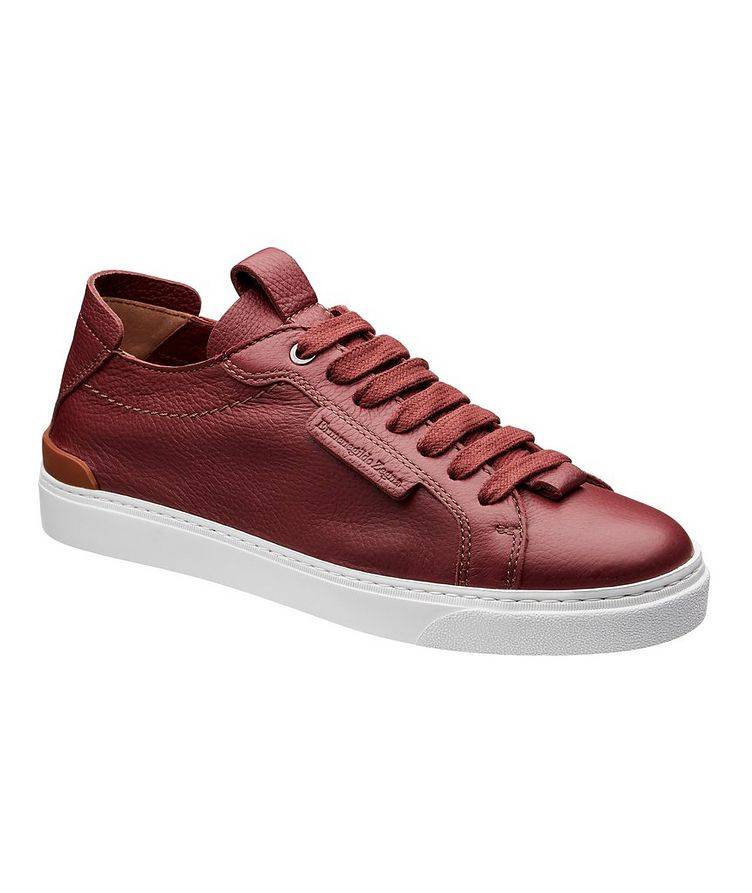 Leather Flex Sneakers image 0