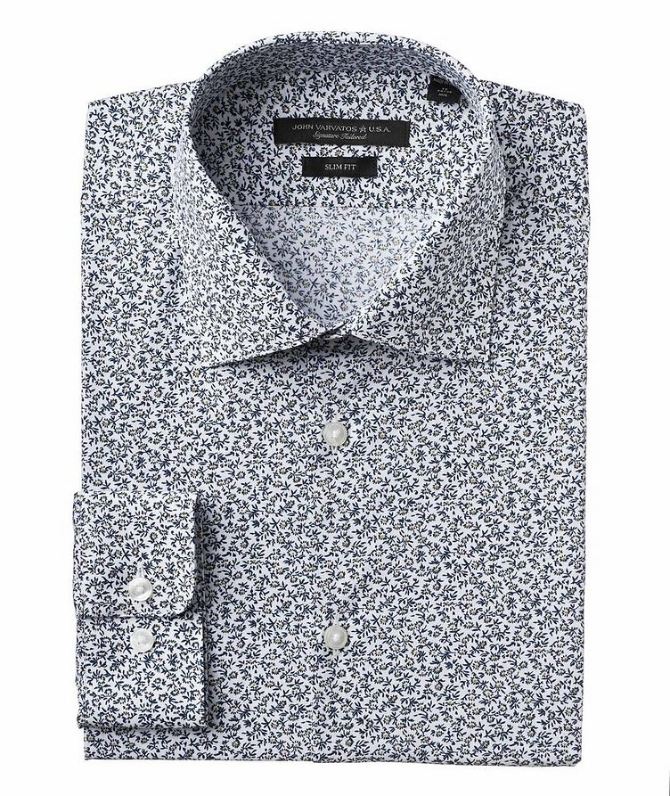 Slim Fit Stretch-Cotton Shirt image 0