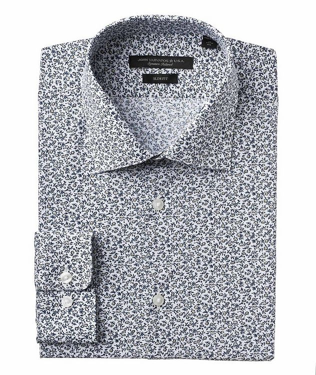 Slim Fit Stretch-Cotton Shirt picture 1