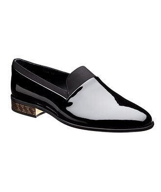 Versace First Line Patent Leather Loafers