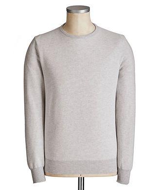 Canali Knit Cotton Sweater