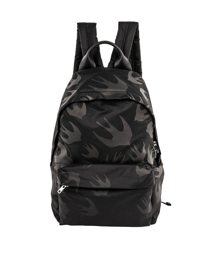 Swallow-Printed Backpack image 0