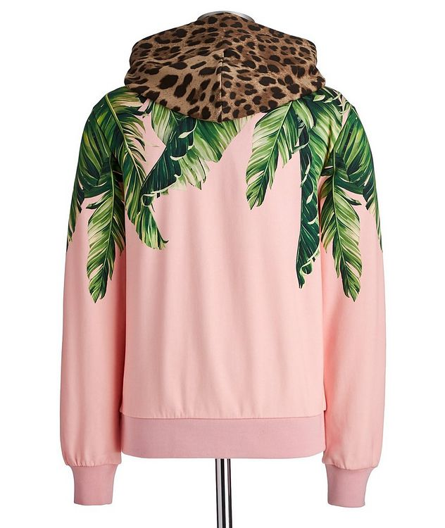 Printed Cotton Hoodie picture 2