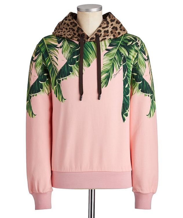 Printed Cotton Hoodie picture 1