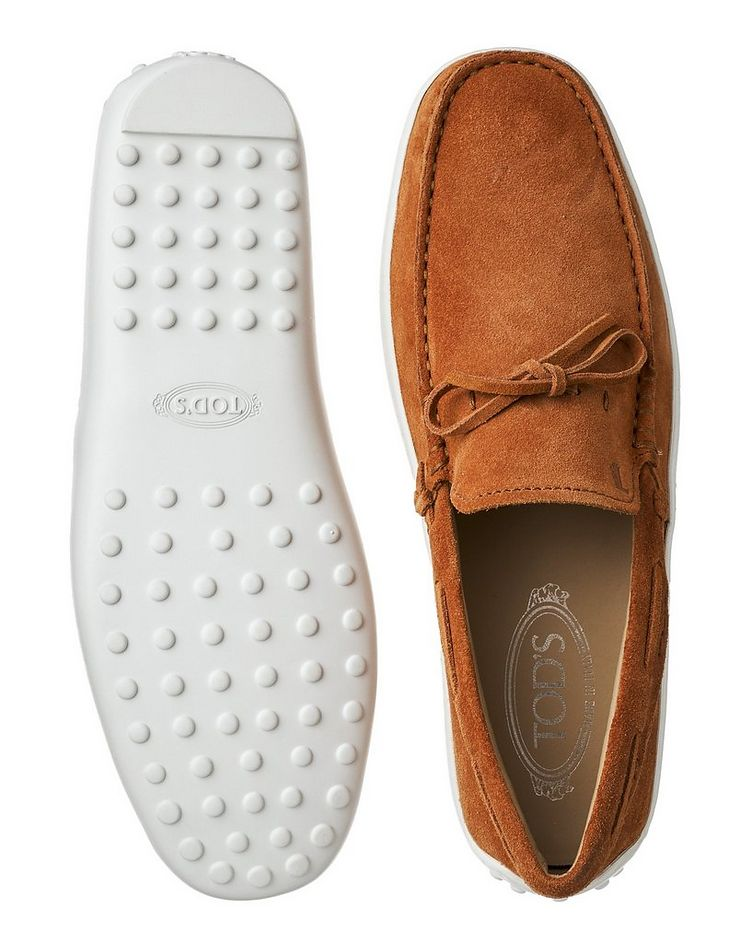 Suede Driving Shoes image 2
