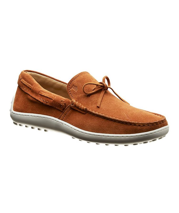 Suede Driving Shoes image 0