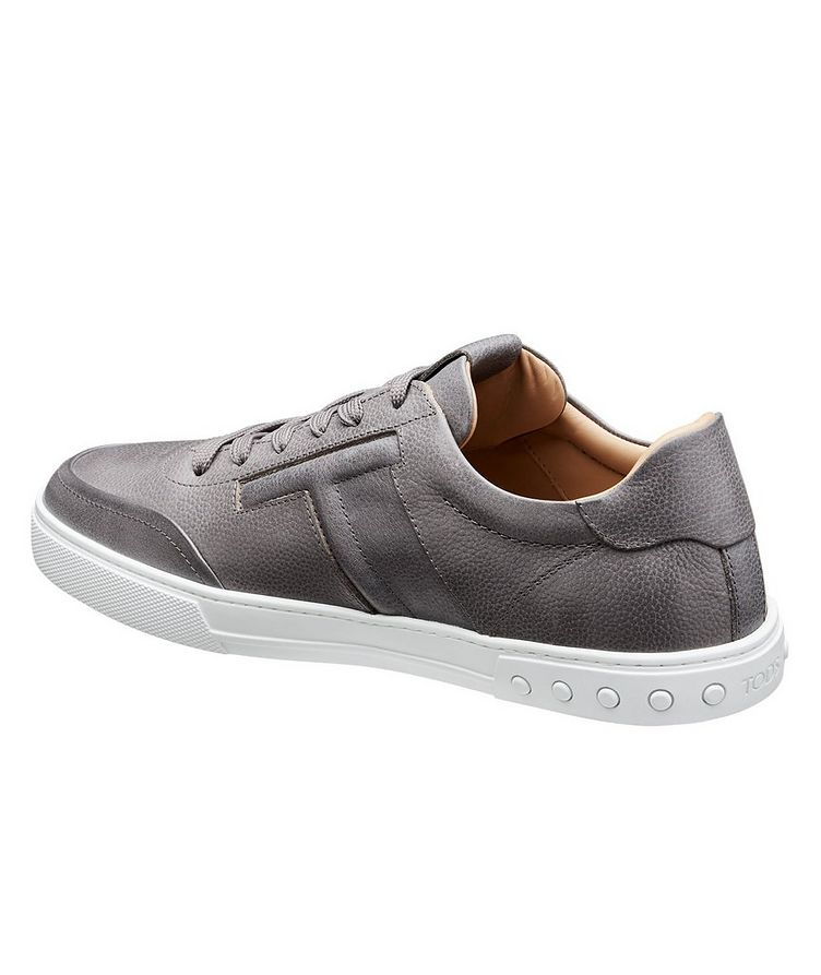Tumbled Leather Sneakers image 1