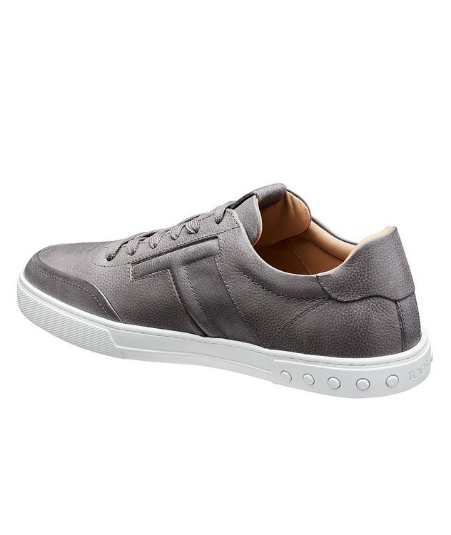 Tumbled Leather Sneakers picture 2
