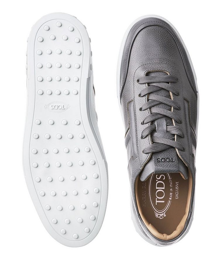 Tumbled Leather Sneakers image 2