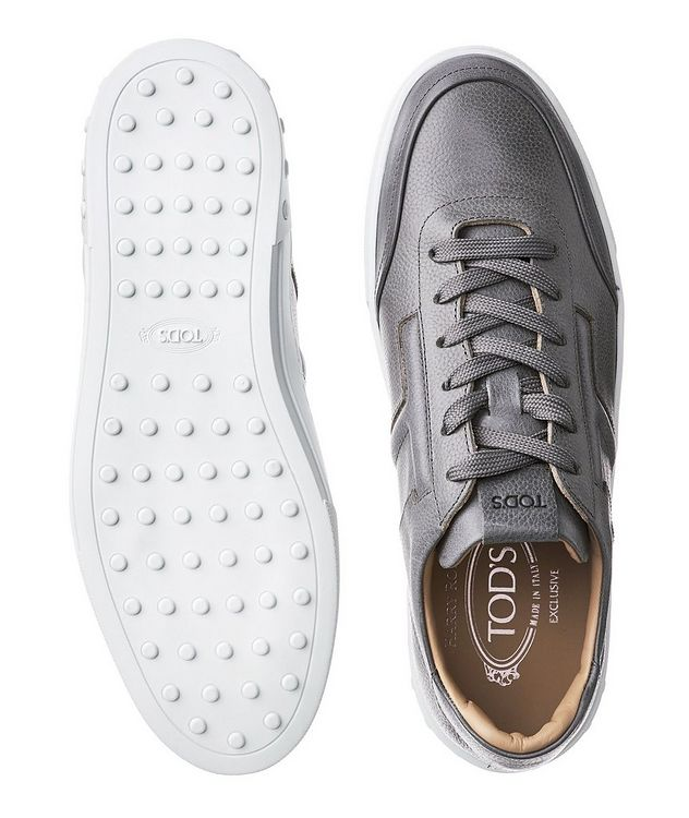 Tumbled Leather Sneakers picture 3