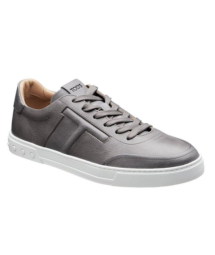 Tumbled Leather Sneakers image 0