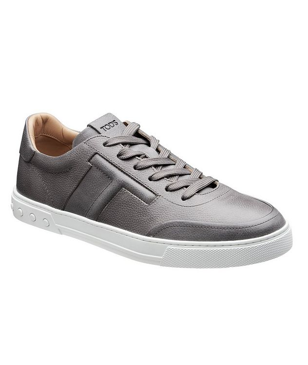 Tumbled Leather Sneakers picture 1