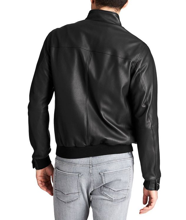 Henri Nappa Leather Jacket picture 2