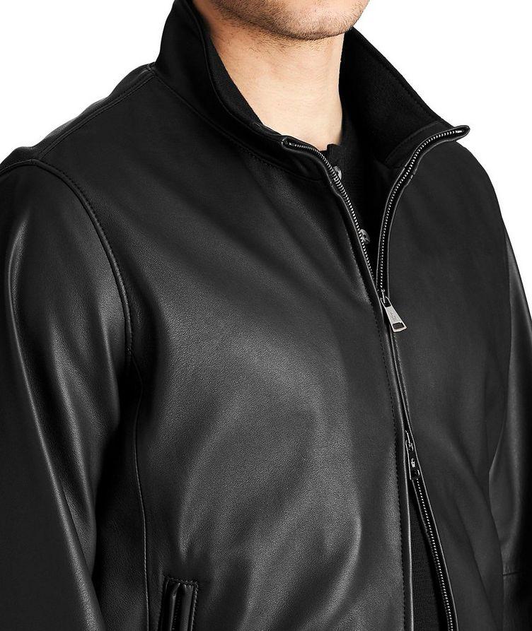 Henri Nappa Leather Jacket image 2