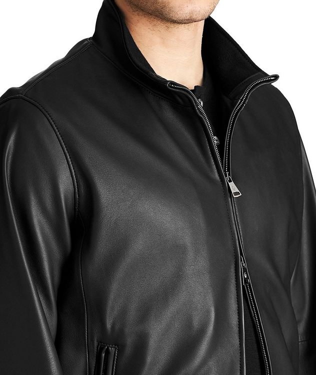 Henri Nappa Leather Jacket picture 3