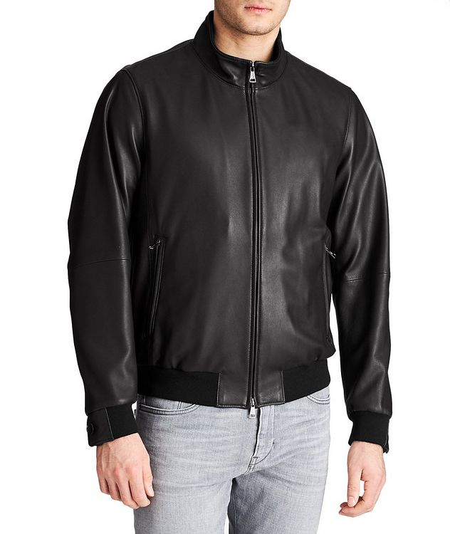 Henri Nappa Leather Jacket picture 1
