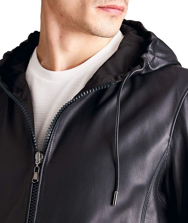 Mats Reversible Leather Jacket picture 4