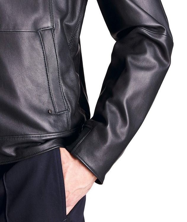 Mats Reversible Leather Jacket picture 5