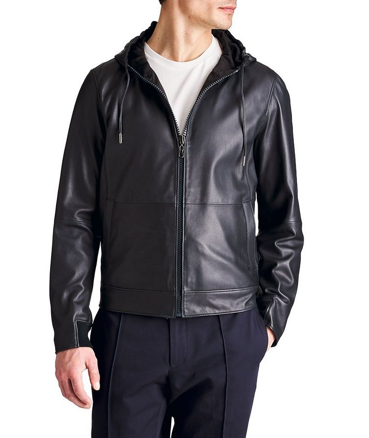 Mats Reversible Leather Jacket image 0