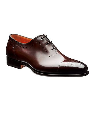 Santoni Whole-Cut Oxford Brogues