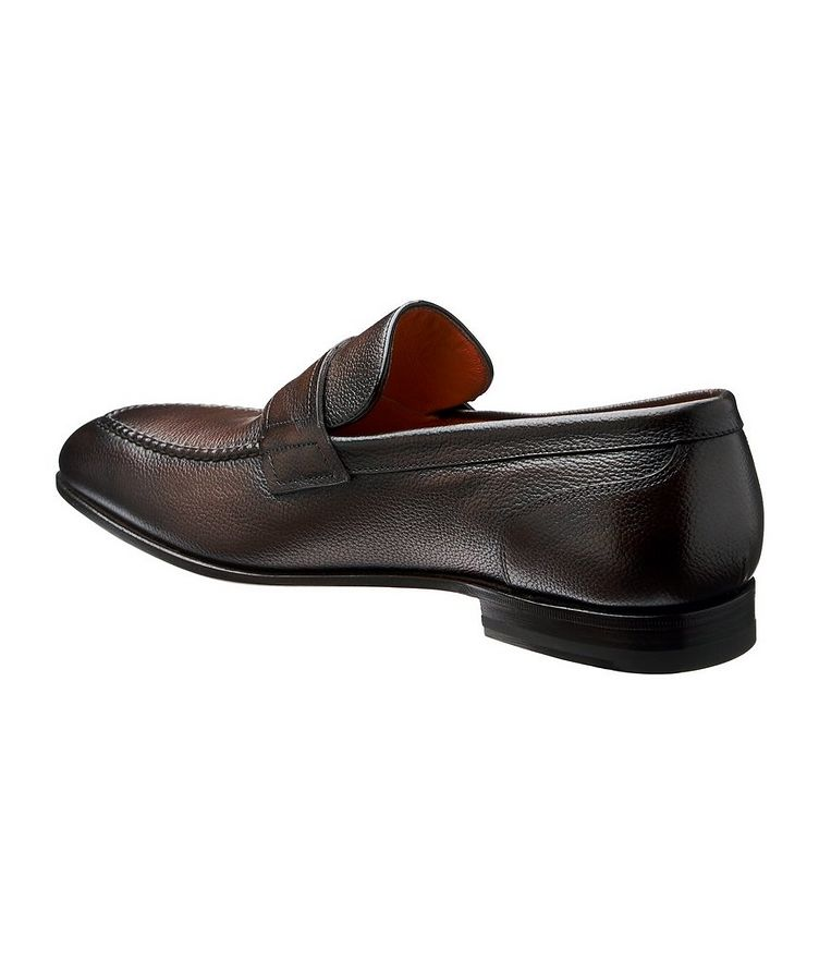 Tumbled Flex Penny Loafers image 1