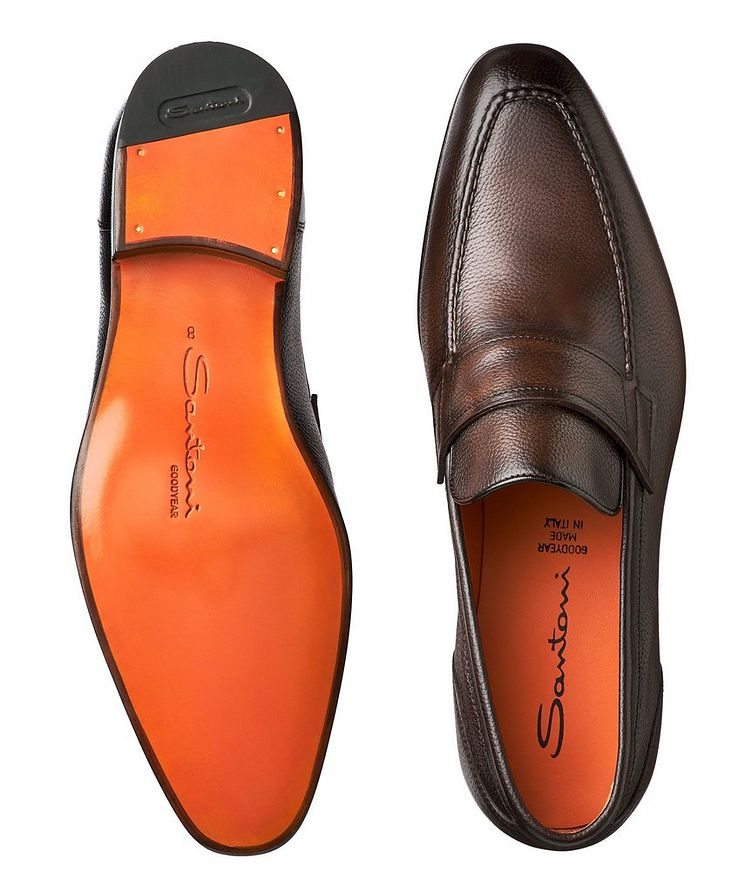 Tumbled Flex Penny Loafers image 2