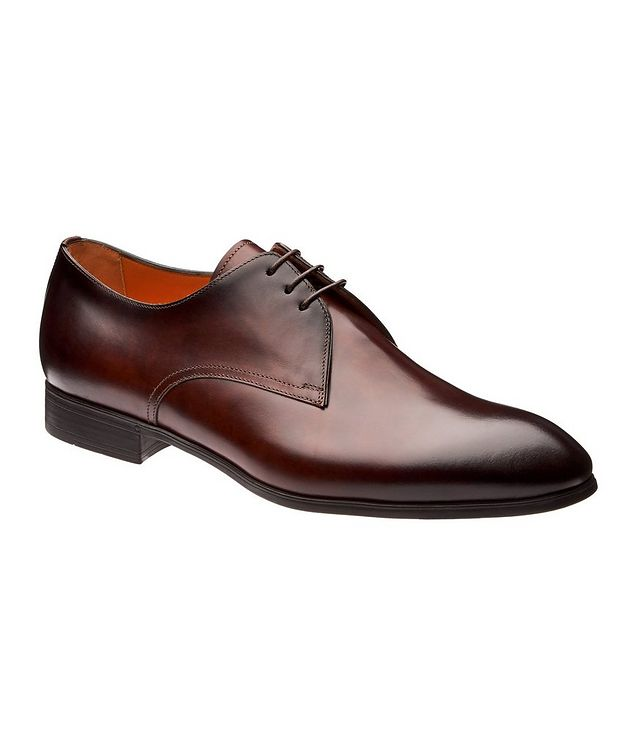 Burnished Leather Derbies picture 1