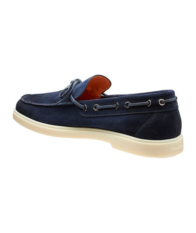 Suede Boat Shoes picture 2