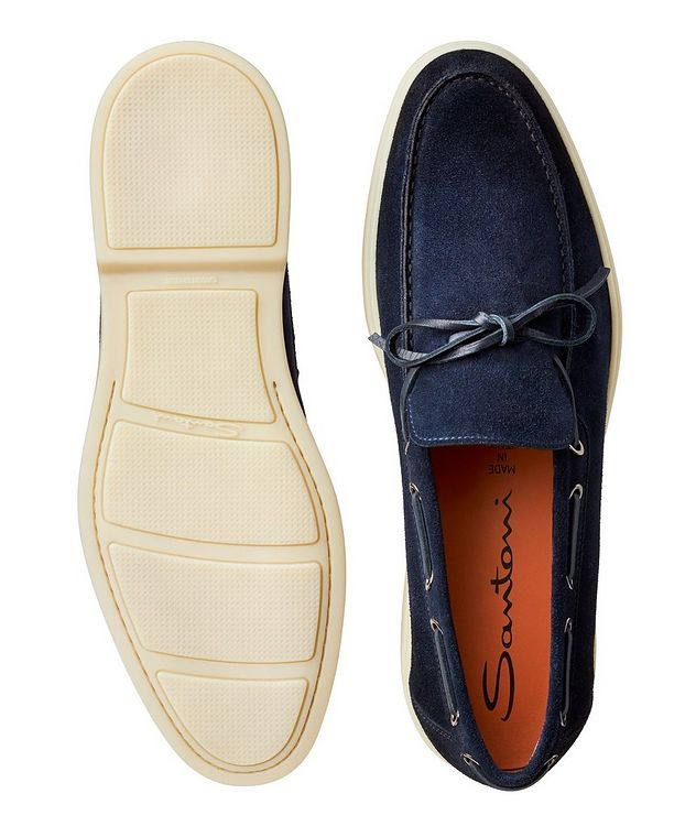 Suede Boat Shoes picture 3