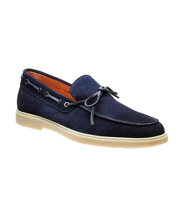 Suede Boat Shoes picture 1