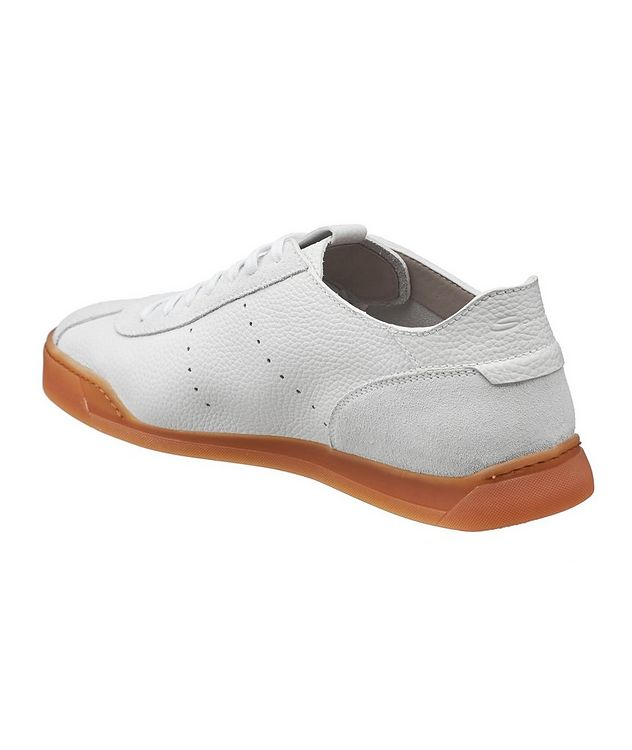 Leather & Suede Sneakers picture 2