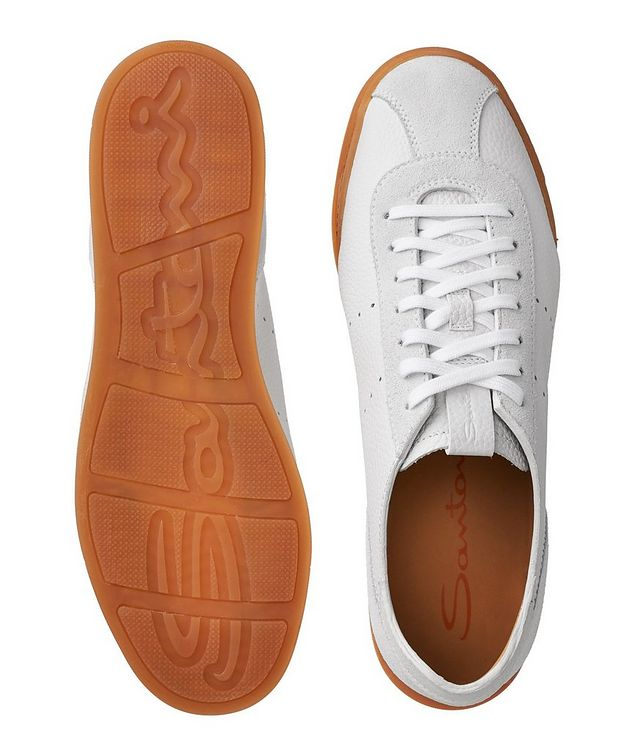 Leather & Suede Sneakers picture 3